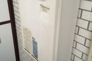 9階建てマンションで給湯器交換を行いました